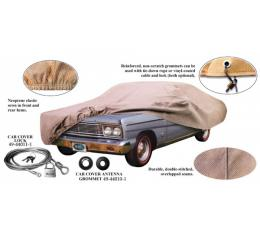Car Cover, Poly Cotton, With Logo, Ford Sunliner Convertible, 1952-1954