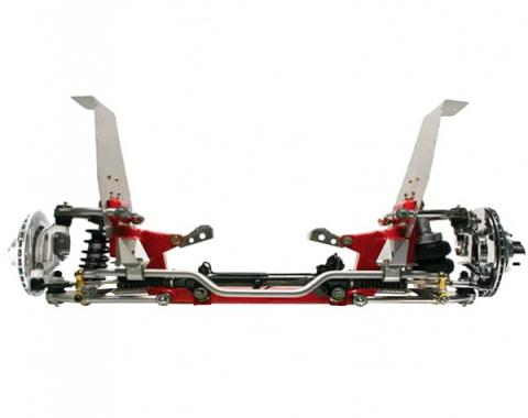 """TCI Custom Coilover Independent Front Suspension Kit, 11"""" Big-Bore Brakes, 1964-1970 Ford"""