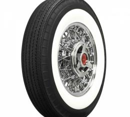"""Ford Tire, Original Appearance, Radial Construction, 7.10 x15"""" With 2-3/4"""" Whitewall"""