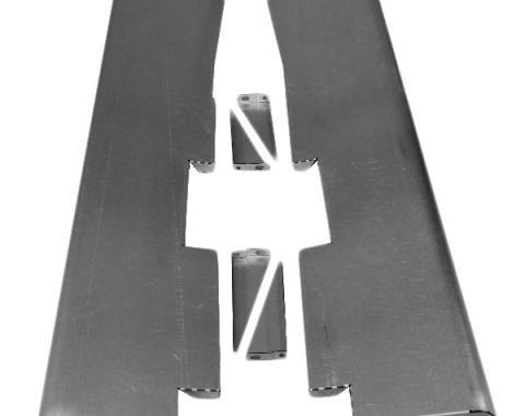 Steel Smoothie Running Board Set, 1935-1936