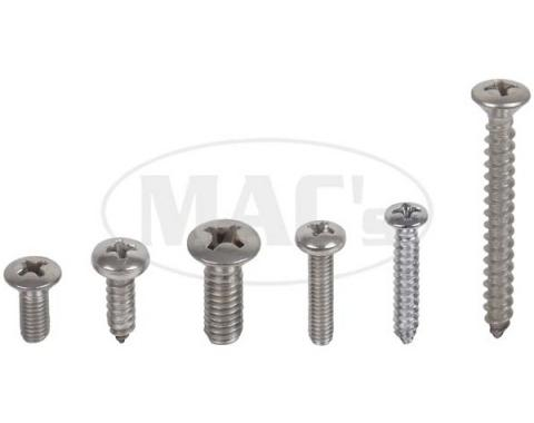 Exterior Screw Kit (42 PIECES), Comet, 1961
