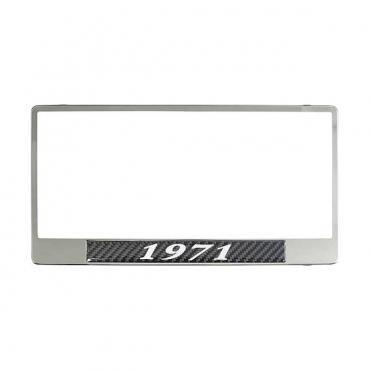 License Plate Frame - 1971