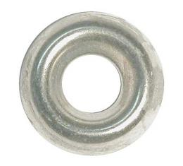 Nickel Plated Finishing Washer - Cup Type - #8