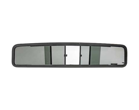Ford Pickup Truck Sliding Rear Window - Dark Gray Tinted Glass - 50-1/4 Wide X 11 High - Will Not Fit Cabs With The NewWrap-Around Big Back Window