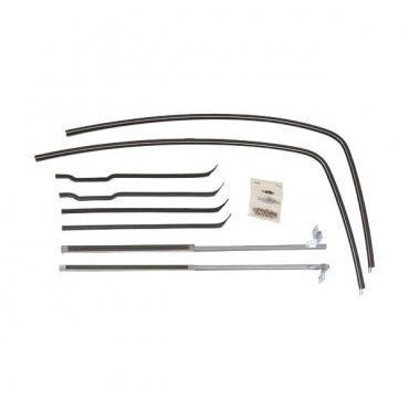 Ford Pickup Truck Deluxe Anti Rattle Kit For Door Glass