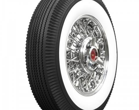 Tire, 800 X 14, 2-1/4 Whitewall, Tubeless, Universal, 1958-60