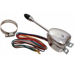 Turn Signal Switch - 12 Volt Negative Ground - Ford & Mercury