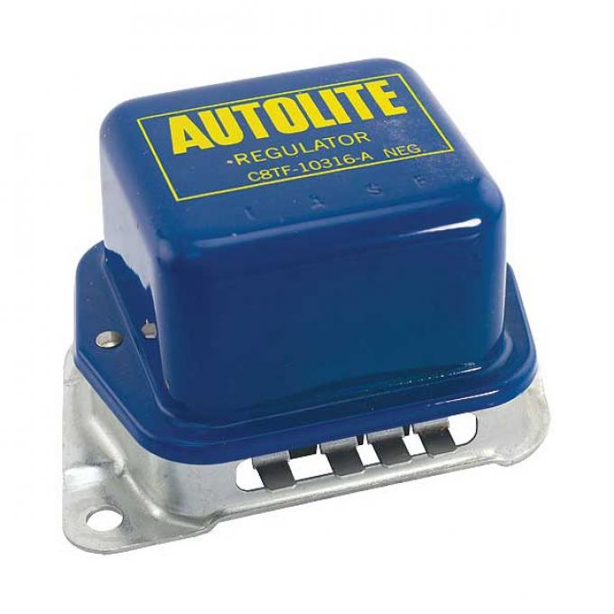 Alternator Voltage Regulator - With Air Conditioning Or Power Top