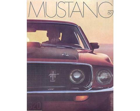 Mustang Color Sales Brochure - 16 Pages - 19 Illustrations