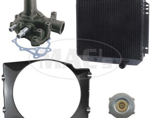 69 Fairlane/Ranchero Cooling Kit (3 Row-351 AC) 24in Rad