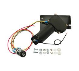 Windshield Wiper Motor Kit - Electric Replacement For Original Vacuum - Ford