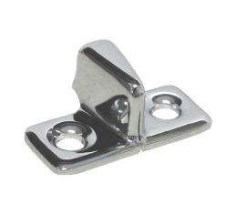 Male Dovetail - Chrome - Without Mounting Screws - Ford Closed Car & Ford Cabriolet