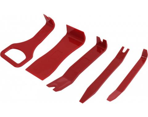 Trim, Moulding & Emblem Tool Set, 5 Pieces