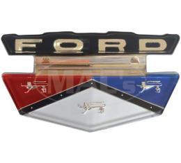 Hood Emblem Insert - Ford Except Fairlane
