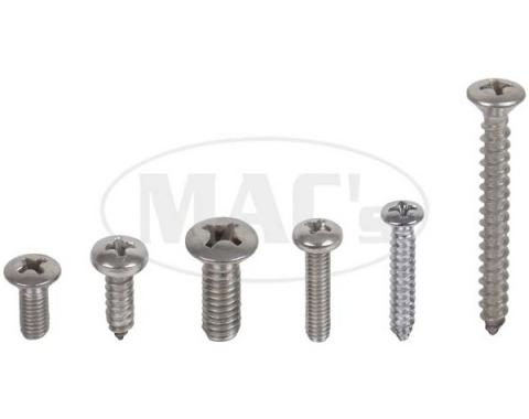 Exterior Screw Kit (43 PIECES), Comet, 1962