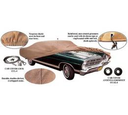 Car Cover, Poly Cotton, Galaxie 500 XL, 1963