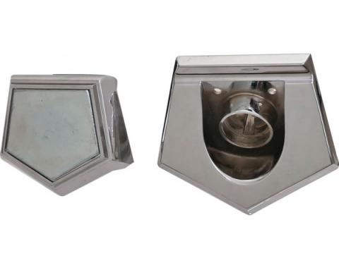 Ford Thunderbird Trunk Lock Base Without Cover, 1965-66