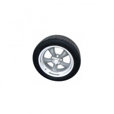 "Torq Thrust II Gray 17"" Wheels & Nitto Motivo Tires, Mounted & Balanced Package"