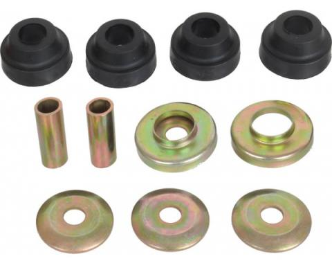 Strut Rod Bushing Kit - 10 Pieces