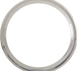 Model A Ford Wheel Trim Ring - 19 - Smooth Stainless Steel