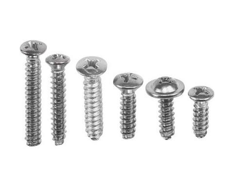 Ford Mustang Interior Screw Kit - 46 Pieces - Convertible