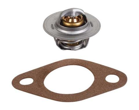 Model T Ford Thermostat & Gasket - 180 Degrees - For Cars With Water Pump