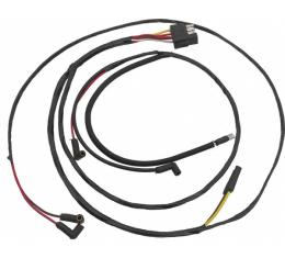 Ford Mustang Firewall To Engine Gauge Feed - V-8 With Warning Lights & 3 Speed Heater Motor