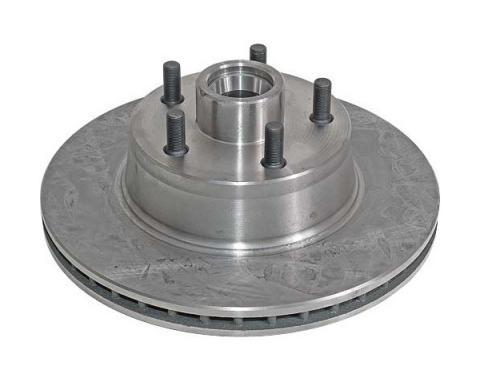 Disc Brake Rotor - 5 Lug - 1 Piece Rotor and Hub