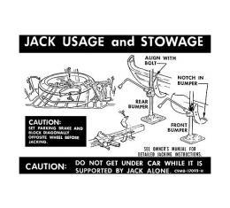 Jack Instructions - Mercury
