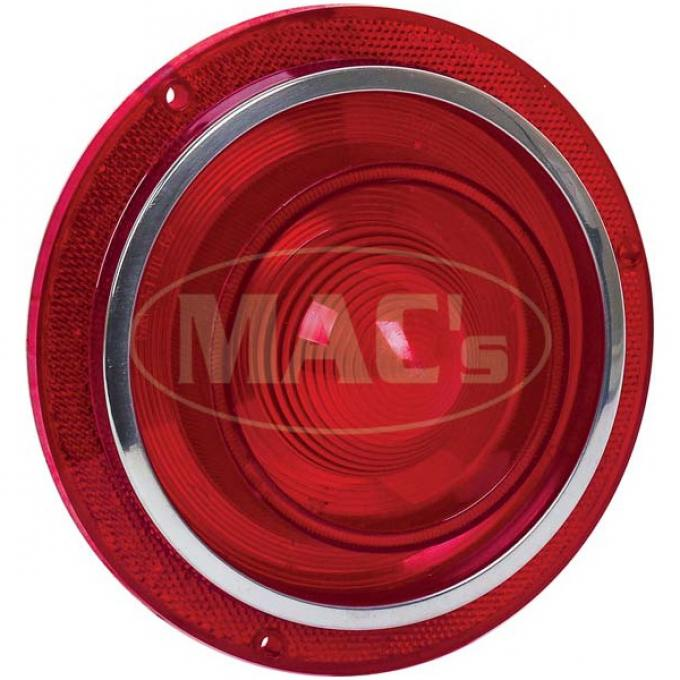 Tail Light Lens - Without Backup Lens