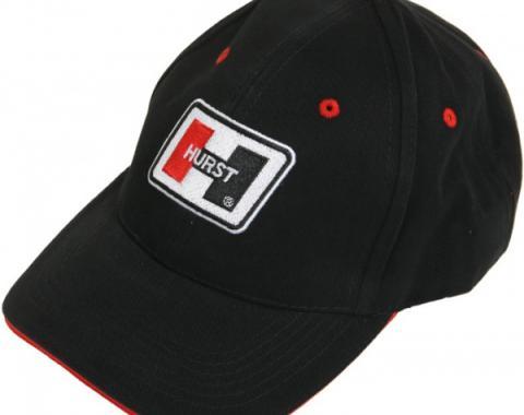 Hurst Logo Adjustable Hat, Black