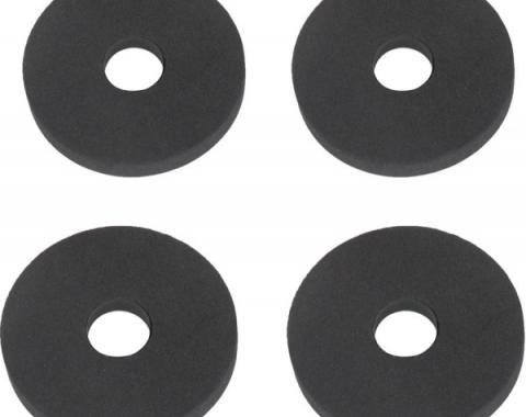 Ford Mustang Rear Bumper Insulator Set - 4 Pieces