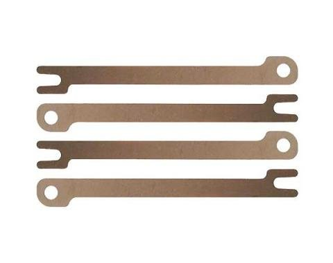 Spark Plug Wire Connector Set - Bronze - 3-13/16 - 4 Pieces- 4 Cylinder Ford Model B