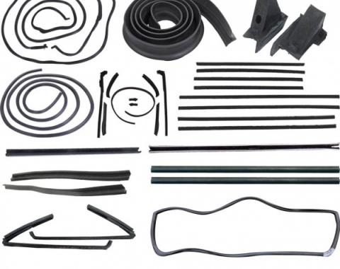 61 Galaxie Weatherstrip Kit (Convertible)