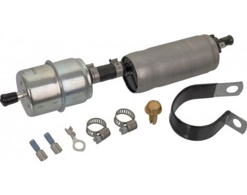Electric Fuel Pump - 12 Volt - 4-7 Lbs Pressure - Top Quality Carter Brand With In-Line Filter - Ford & Mercury