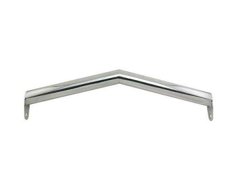 Front Spreader Crossbar - V Style - Polished Stainless Steel - Ford