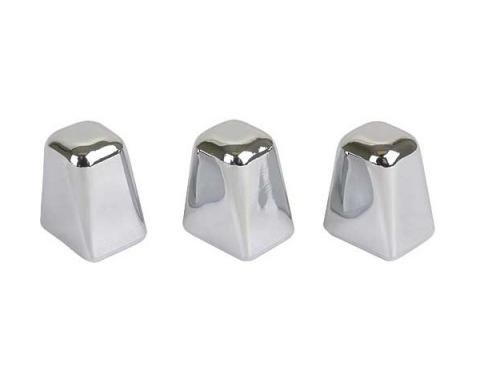 Ford Mustang Heater Control Knob Set - 3 Pieces