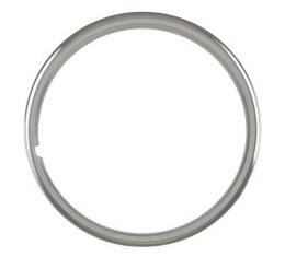 Wheel Trim Ring - Stainless Steel - 14 - Smooth - Ford