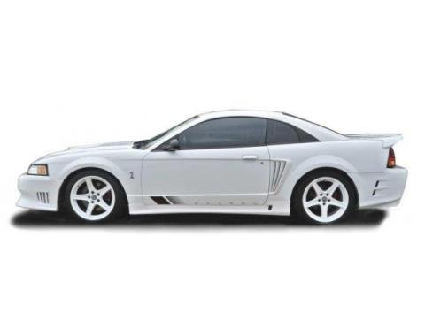 Ford Mustang Saleen Style 2 Pc Poly Side Skirts 1999-04
