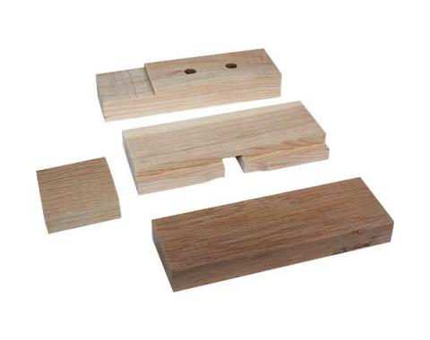 Model T Ford Body Block Set - Wood - 10 Pieces - Coupe & Roadster