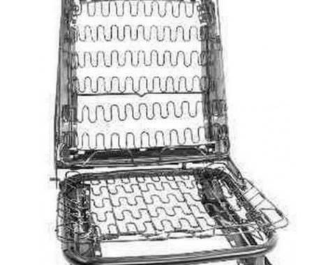 Ford Mustang Bucket Seat Frame & Spring Assembly - CompleteSeat Cushion & Back Assembly - Left