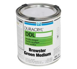 Exterior Body Paint - Acrylic Lacquer - Brewster Green Medium - Quart - Ford