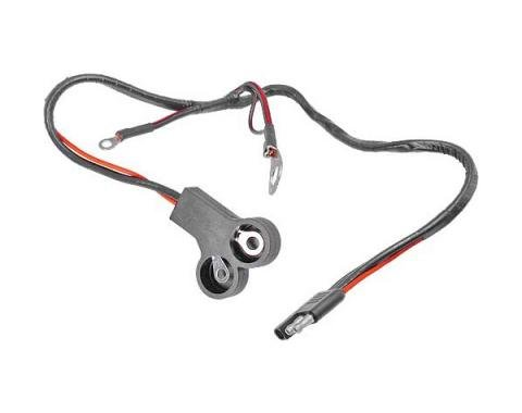 Ford Mustang Alternator To Voltage Regulator Wiring - 302 Or 351W V-8 Without Tachometer