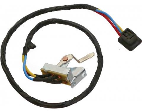 Ford Mustang Heater Blower Switch Assembly - 3 Speed Switch- After 4-1-1965