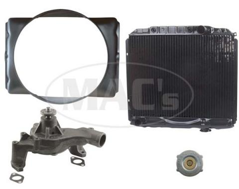 66 Fairlane Cooling Kit (3 Row-390/427)