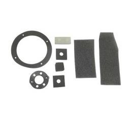 Ford Pickup Truck Heater Gasket Seal Kit - For Fresh Air Heater - 8 Pieces - F100 Thru F750