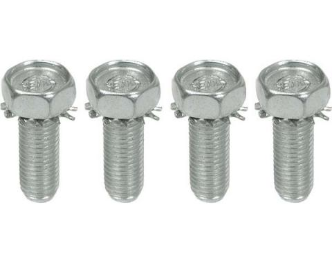 Upper Shock Mount Bolts With Integral Star Washer, Set of 4
