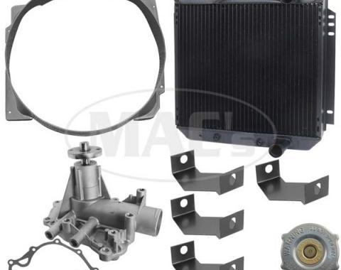 66 Falcon/Ranchero Cooling Kit (3 Row-289) Xtra