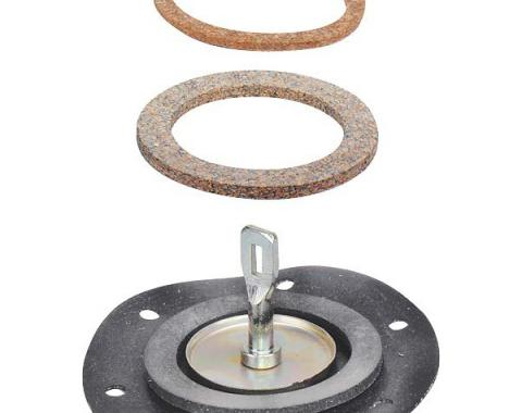 Fuel Pump Diaphragm - With 2 Gaskets - Ford