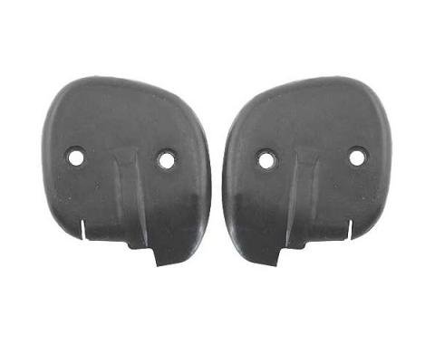 Ford Mustang Door Seals - At Belt - Rubber